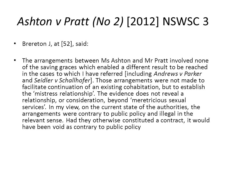 Ashton v Pratt (No 2) [2012] NSWSC 3